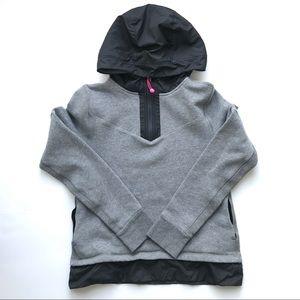 Ivivva Girls Hooded Pullover Sweatshirt Gray 14